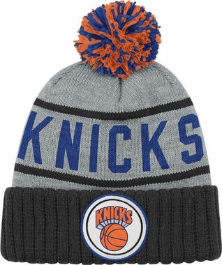 New York Knicks High 5 Vintage Cuffed Pom Hat