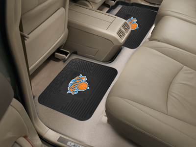 New York Knicks SET OF 2 Heavy Duty Vinyl Rear Car Mats