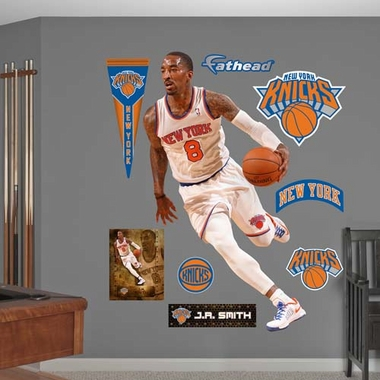 New York Knicks J.R. Smith Fathead Wall Graphic