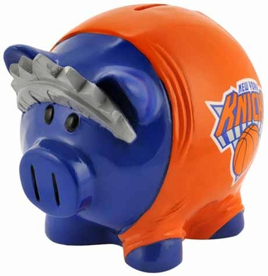 New York Knicks Large Thematic Piggy Bank