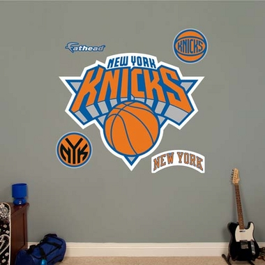 New York Knicks Logo Fathead Wall Graphic
