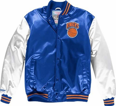 New York Knicks Mitchell & Ness Sublimated Premium Jacket