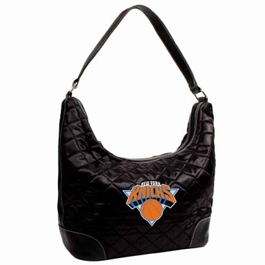New York Knicks Quilted Hobo Purse