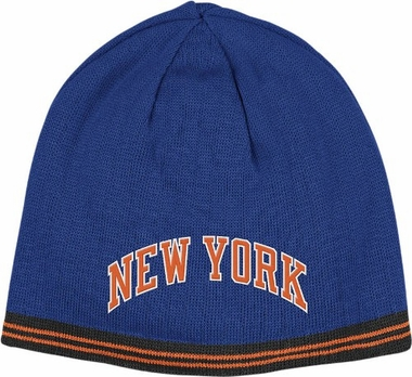 New York Knicks Reversible Cuffless Knit Hat