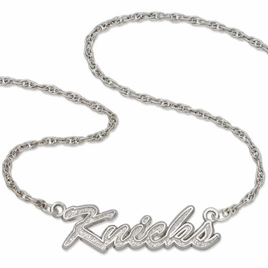 New York Knicks Script Necklace