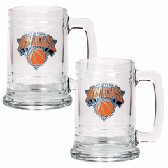 New York Knicks Set of 2 15 oz. Tankards