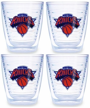 New York Knicks Set of FOUR 12 oz. Tervis Tumblers