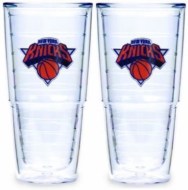 New York Knicks Set of TWO 24 oz. Tervis Tumblers