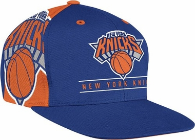 New York Knicks Side Logo Snap Back Hat