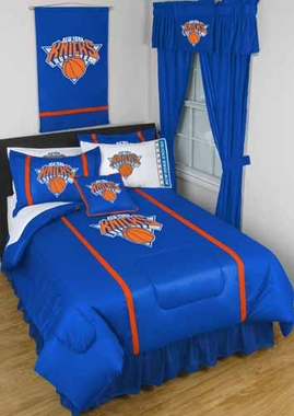 New York Knicks SIDELINES Jersey Material Comforter