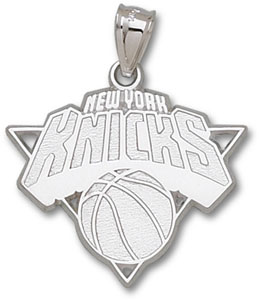 New York Knicks Sterling Silver Pendant