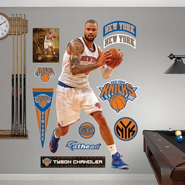 New York Knicks Tyson Chandler Fathead Wall Graphic