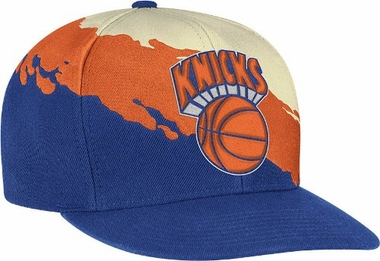 New York Knicks Vintage Paintbrush Snap Back Hat