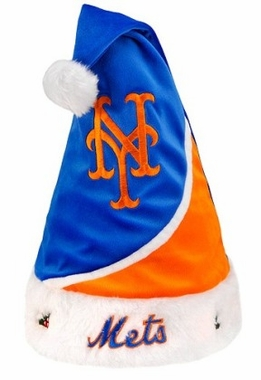 New York Mets 10 Santa Hat