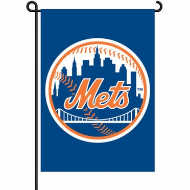 New York Mets 11x15 Garden Flag