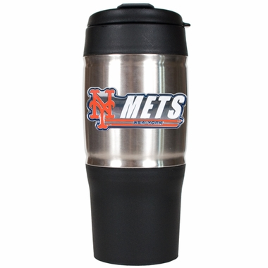 New York Mets 18oz Oversized Travel Tumbler
