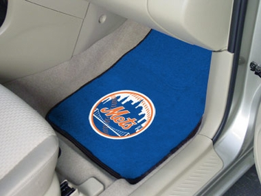 New York Mets 2 Piece Car Mats