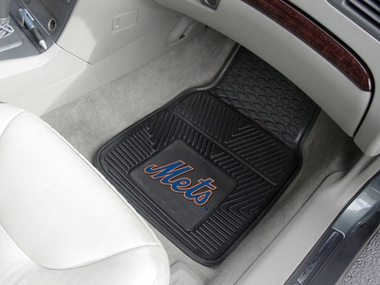 New York Mets 2 Piece Heavy Duty Vinyl Car Mats