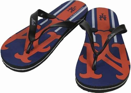 New York Mets 2012 Unisex Big Logo Flip Flops