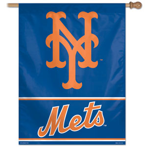 "New York Mets 27"" x 37"" Banner"