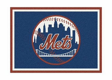 "New York Mets 3'10"" x 5'4"" Premium Spirit Rug"