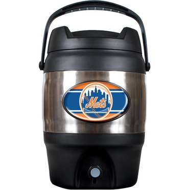 New York Mets 3 Gallon Stainless Steel Jug