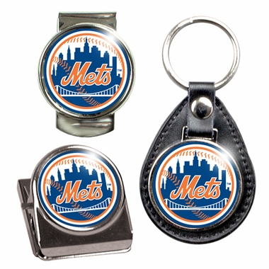 New York Mets 3 Piece Gift Set