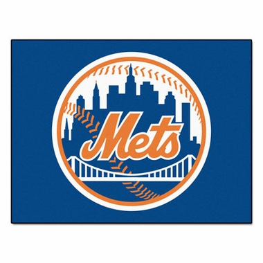 New York Mets 34 x 45 Rug