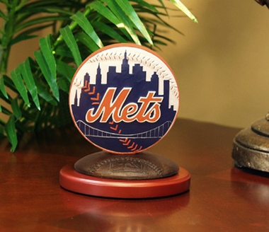 New York Mets 3D Baseball Logo