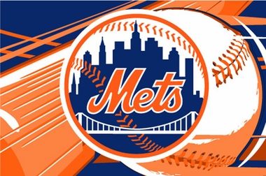 New York Mets 40 x 60 Rug