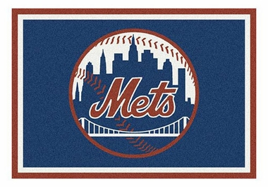 "New York Mets 5'4"" x 7'8"" Premium Spirit Rug"