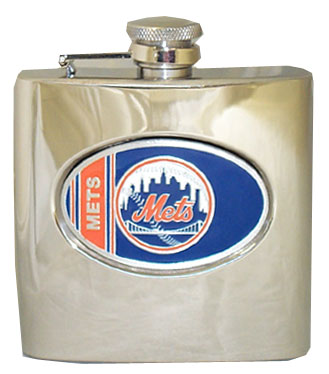 New York Mets 6 oz. Hip Flask