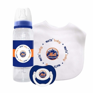 New York Mets Baby Gift Set