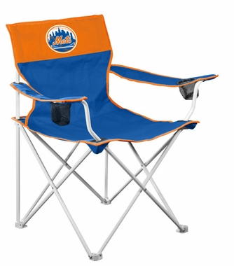 New York Mets Big Boy Adult Folding Logo Chair
