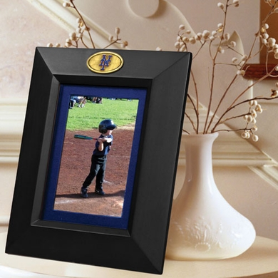 New York Mets BLACK Portrait Picture Frame