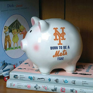 New York Mets (Born to Be) Piggy Bank