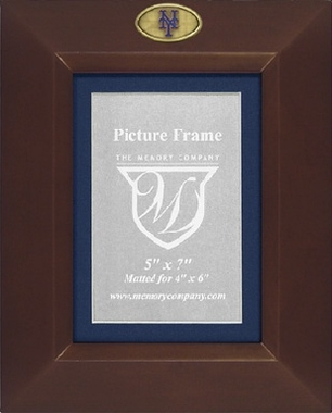 New York Mets BROWN Portrait Picture Frame
