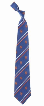 New York Mets Cambridge Woven Silk Necktie