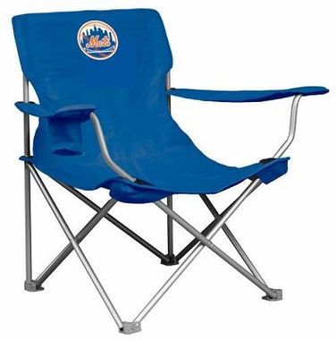 New York Mets Canvas Adult Folding Logo Chair