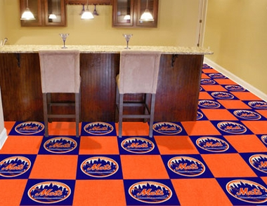 New York Mets Carpet Tiles