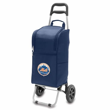 New York Mets Cart Cooler (Navy)