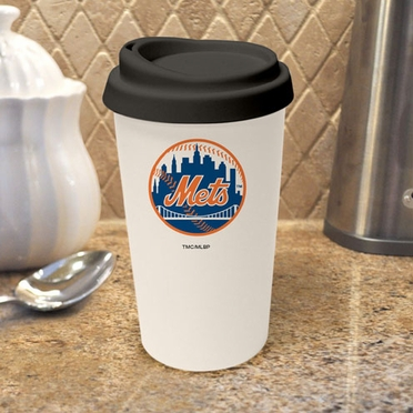 New York Mets Ceramic Travel Cup