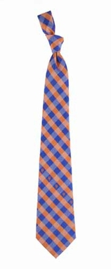 New York Mets Check Poly Necktie