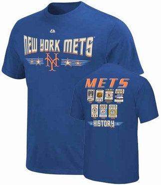 New York Mets Cooperstown Tickets T-Shirt
