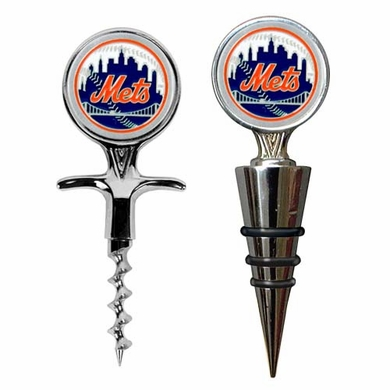 New York Mets Corkscrew and Stopper Gift Set