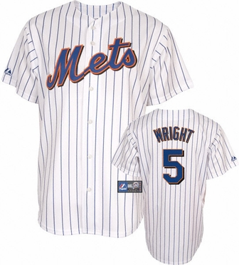 New York Mets David Wright Replica Player Jersey