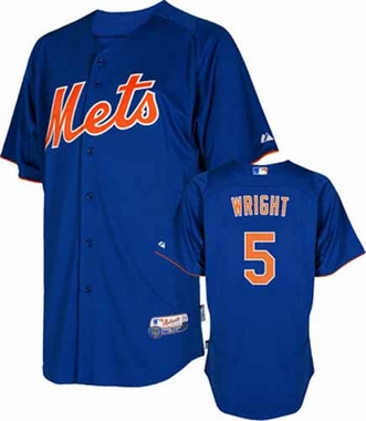 New York Mets David Wright YOUTH Cool Base Batting Practice Jersey