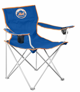 New York Mets Deluxe Adult Folding Logo Chair