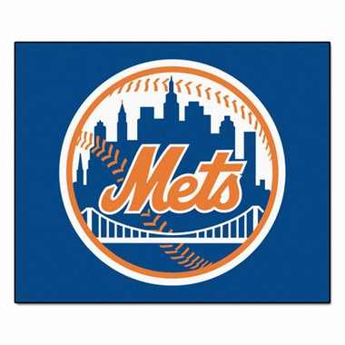 New York Mets Economy 5 Foot x 6 Foot Mat