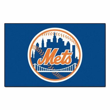 New York Mets Economy 5 Foot x 8 Foot Mat